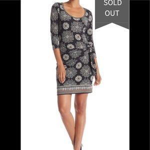 Max Studio Long Sleeve Cinched Side Dress NWT Sz S